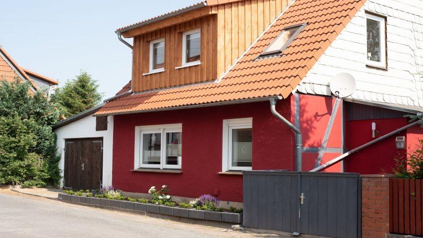 Modernes Ferienhaus Knopp Im Harz Kamin Zaun Wlan
