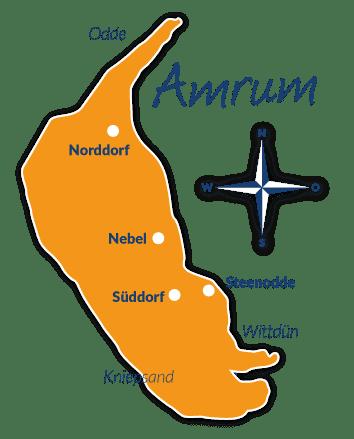 amrum karte ▷ Reiseführer Amrum mit Hund   Hundestrände, Tipps, Infos