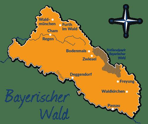Nationalpark Bayerischer Wald Karte.Reiseführer Bayerischer Wald Mit Hund Tipps Und Infos