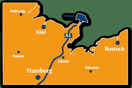 Fehmarn Karte Ostsee.Reisefuhrer Fehmarn Mit Hund Reisetipps Und Infos