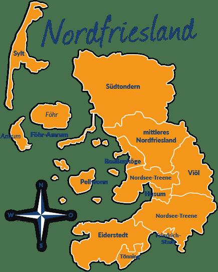 Husum Karte.Reisefuhrer Nordfriesland Mit Hund Infos Und Tipps