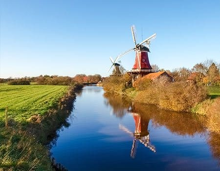 Windmühle in Greetsiel