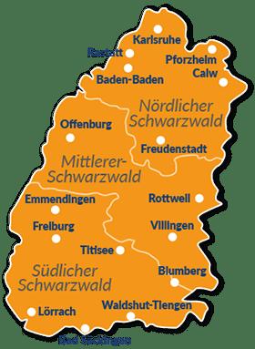 Südschwarzwald Karte.Reiseführer Schwarzwald Mit Hund Tipps Und Infos
