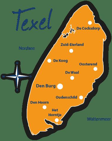 Karte Texel.Reiseführer Texel Mit Hund Hundestrände Infos Tipps