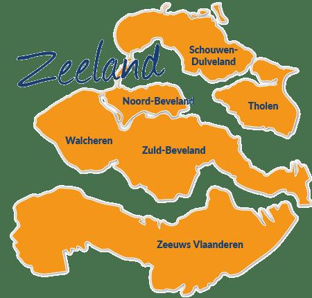Zeeland Holland Karte.Reisefuhrer Zeeland Mit Hund Tipps Und Infos